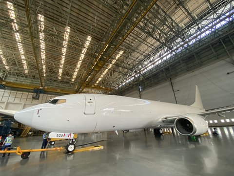 GAMECO completes first 737-800BCF conversion